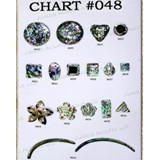 Chart Components #048 - Codes: #619, #620, #621, #622, #623, #624, #625, #626, #627, #628, #629, #630, #631, #632, #633, #634