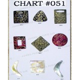 Chart Components #051 - Codes: #653, #654, #655, #656, #657, #658, #659, #660, #661