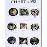 Chart Components #052 - Codes: #662, #663, #664, #665, #666, #667, #668, #669, #670