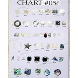 Chart Components #056 - Codes: #702, #703, #704, #705, #706, #707, #708, #709, #710, #711, #712, #713, #714, #715, #716, #717, #718, #719, #720, #721, #722, #723, #724, #725, #726, #727, #728, #729, #730, #731, #732, #733, #734, #735