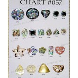 Chart Components #057 - Codes: #736, #737, #738, #739, #740, #741, #742, #743, #744, #745, #746, #747, #748, #749, #750, #751, #752, #753, #754, #755, #756