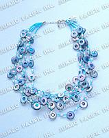 3-5 Rows Coco Pukalet in Glass Beads