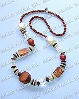 Mixed components with assorted wood beads